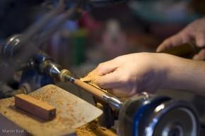 výroba drevených pier