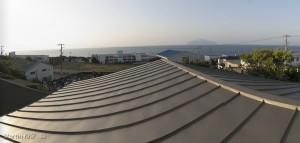 Výhľad z okna našej ubytovne.